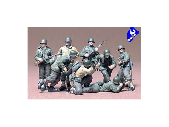 tamiya maquette militaire 35048 Infanterie US Front Europe 1/35