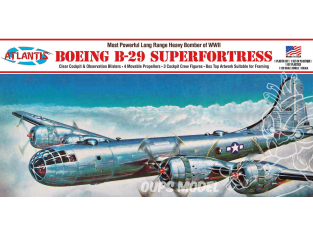 Atlantis maquette avion H208 Boeing B-29 Superfortress 1/120