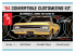 AMT maquette voiture 1200 1964 OLDS CUTLASS F-85 CONVERTIBLE 3in1 1/25