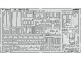 EDUARD photodecoupe avion 481066 Amélioration Focke Wulf Fw 190D-11/13 Eduard 1/48