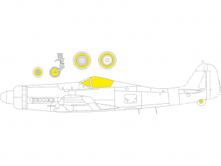 Eduard Express Mask EX800 Focke Wulf Fw 190D-11/13 TFace Eduard 1/48