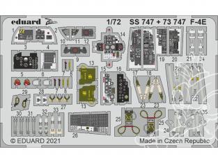 Eduard photodecoupe avion SS747 Zoom amélioration F-4E Finemolds 1/72