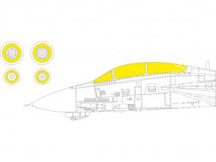 Eduard Express Mask CX605 F-14B Great Wall Hobby 1/72