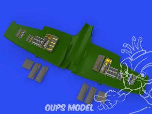 Eduard kit d'amelioration avion brassin 648666 Gun bays Spitfire Mk.Vc Eduard 1/48