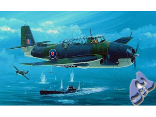 Hobby Boss maquette avion 80331 AVENGER MK1 BRITISH FAR 1/48