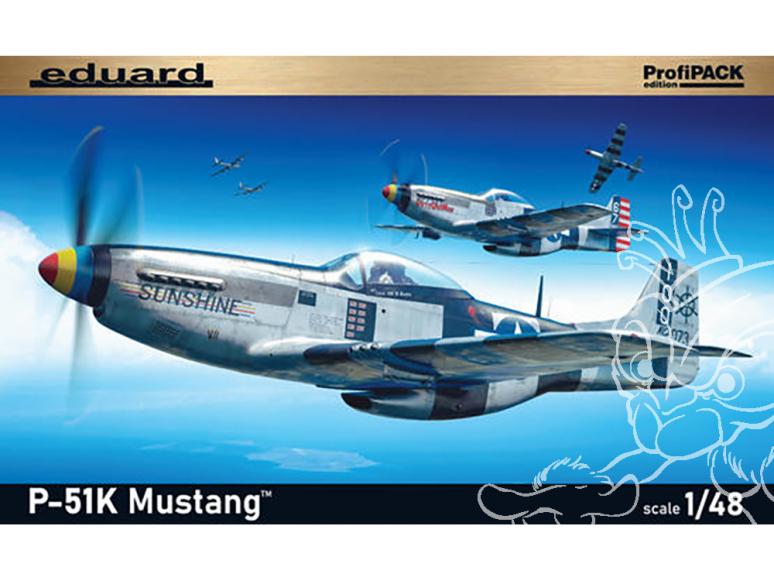 EDUARD maquette avion 82105 Mustang P-51K ProfiPack Edition 1/48