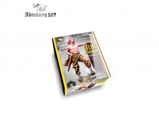 Abteilung 502 figurine ABT1017 GUERRIER CELTIQUE 3E SIÈCLE AVANT JÉSUS CHRIST 54mm Résine.