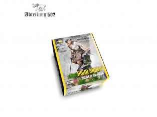 Abteilung 502 figurine ABT1022 HIGHLANDER BATAILLE DE CULLODEN 54mm Résine