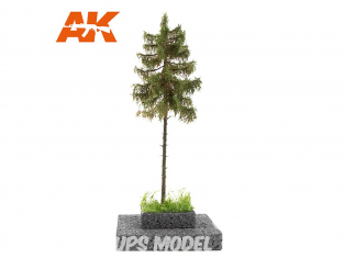 AK interactive Diorama series ak8176 Arbre ÉPICÉA 1:72 / 1:48 / H0
