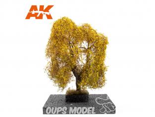 AK interactive Diorama series ak8186 SAULE PLEUREUR en AUTOMNE 1:72 / 1:48 / H0