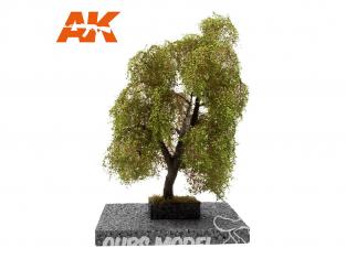 AK interactive Diorama series ak8185 SAULE PLEUREUR en ÉTÉ 1:72 / 1:48 / H0