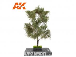 AK interactive Diorama series ak8183 PEUPLIER BLANC en ÉTÉ 1:72 / 1:48 / H0
