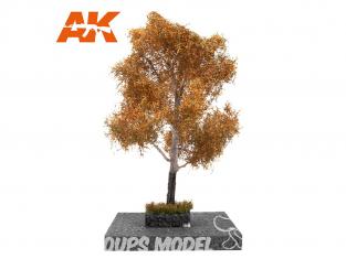 AK interactive Diorama series ak8184 PEUPLIER BLANC en AUTOMNE 1:72 / 1:48 / H0