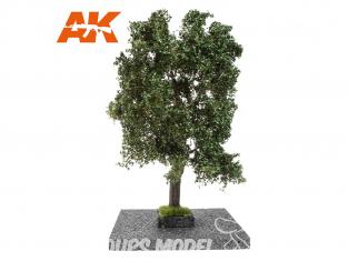 AK interactive Diorama series ak8192 Arbre CHÊNE ÉTÉ 1:35 / 1:32 / 54mm