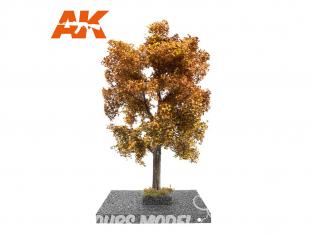 AK interactive Diorama series ak8193 Arbre CHÊNE en AUTOMNE 1:35 / 1:32 / 54mm