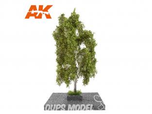 AK interactive Diorama series ak8190 Arbre BOULEAU ÉTÉ 1:35 / 1:32 / 54mmd