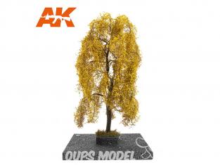 AK interactive Diorama series ak8197 Arbre Saule pleureur en AUTOMNE 1:35 / 1:32 / 54mm