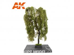 AK interactive Diorama series ak8196 Arbre Saule pleureur en ÉTÉ 1:35 / 1:32 / 54mm
