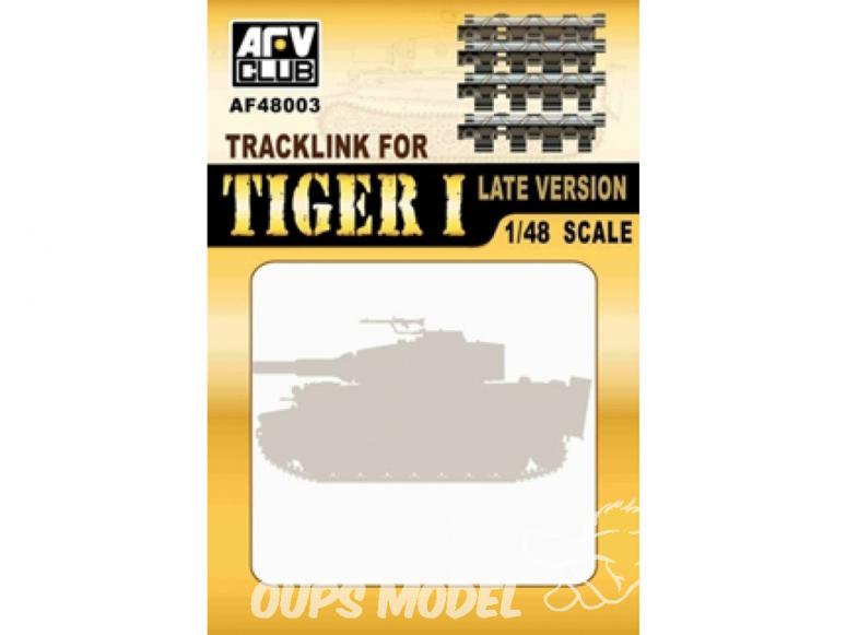 Afv Club maquette militaire 48003 CHENILLES POUR TIGRE I 1/48
