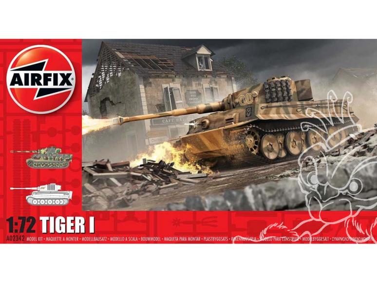 Airfix maquette militaire A02342 Tiger 1 1/72