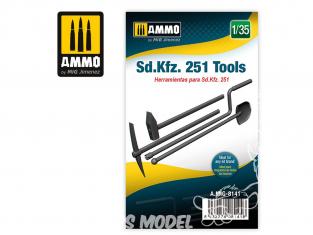 Ammo Mig accessoire 8141 Outils Sd.Kfz. 251 1/35