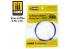 Mig accessoires 8240 Ruban de masquage Softouch velvet Tape 1 - 2mm x 25m Bande cache velour