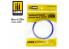 Mig accessoires 8241 Ruban de masquage Softouch velvet Tape 2 - 6mm x 25m Bande cache velour