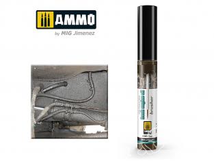 MIG Brusher 1800 Huile moteur fraiche peinture avec applicateur 10ml