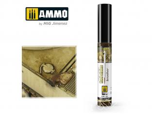 MIG Brusher 1801 Taches de carburant peinture avec applicateur 10ml