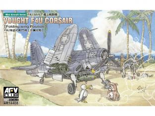 AFV maquette avion AR14408 Vought F4U Corsair ailes repliées 1/144