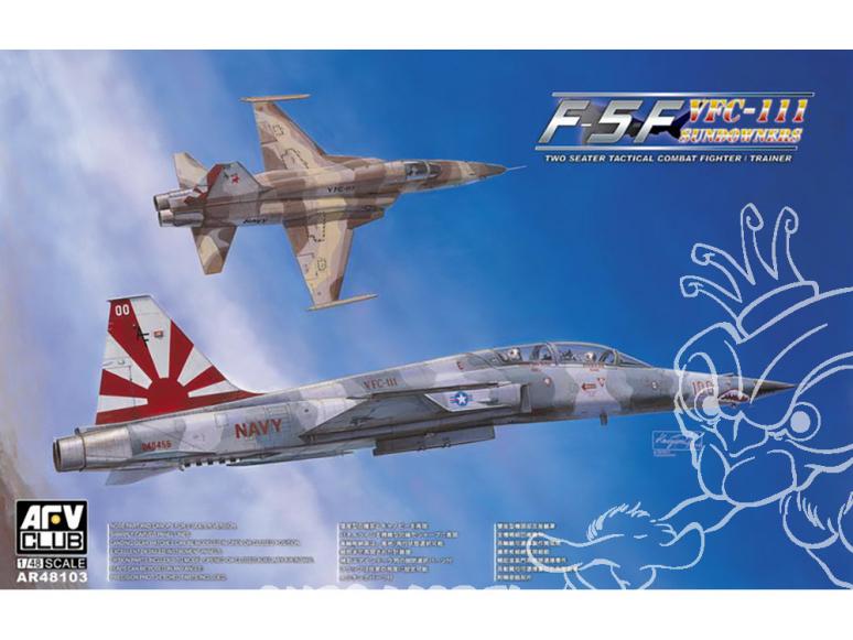 AFV maquette avion 48103 U.S. Navy VFC-111 Sunset Squadron F-5F 1/48