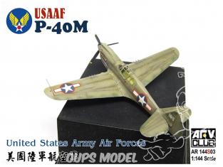 AFV maquette avion AR144S03 P-40N de l'armée de l'air américaine 1/144
