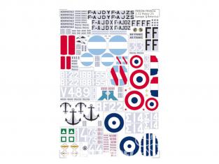 Frrom maquettes avions FR0X04 Potez 25 Europe et America 1/72