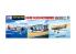 Aoshima maquette avion 59449 Set d'avions Japonais pour porte-avions 1/700