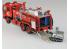 Aoshima maquette camion 59715 Camion de pompier Osaka Municipal Fire Department 1/72