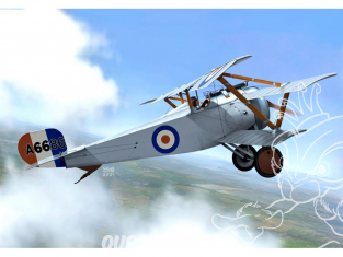 KP Model kit avion KPM0255 Nieuport Triplane RFC/RNAS 1/72