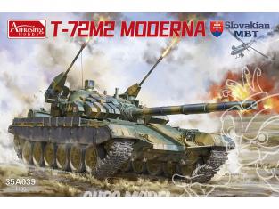 Amusing maquette militaire 35A039 T-72M2 MODERNA 1/35