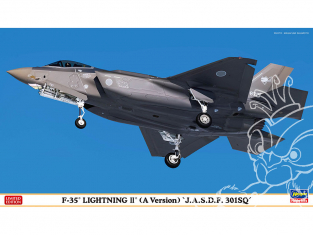 Hasegawa maquette avion 02374 F-35 Lightning II (Type A) «Air Self-Defense Force 302nd Squadron» 1/72