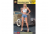 Hasegawa maquette figurine 52284 12 Real Figure Collection No.04 «Blonde Girl Vol.2» 1/12