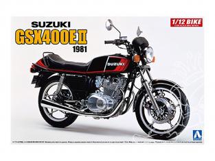 Aoshima maquette moto 54574 Suzuki GSX400E II 1981 1/12