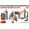 Mini Art maquette militaire 35378 SOLDATS ALLEMANDS AU REPOS ÉDITION SPÉCIALE 1/35