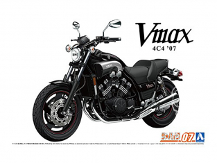 Aoshima maquette moto 62302 Yamaha Vmax 4C4 2007 1/12