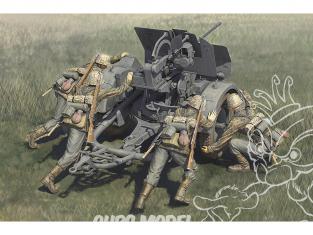 Hobby Boss maquette figurines 84418 équipage Groupe d'artillerie anti-aérienne allemand 20mm Flak38 1/35