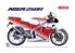 Aoshima maquette moto 61770 Honda NSR 250R 1988 1/12