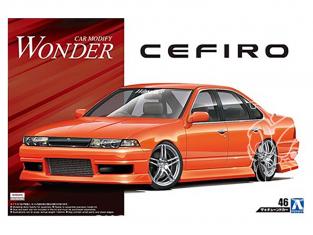 Aoshima maquette voiture 55137 Nissan Wonder Cefiro A31 1990 1/24
