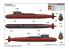 TRUMPETER maquette sous marin 05910 PLAN Type 092 Xia Class SSBN 1/144