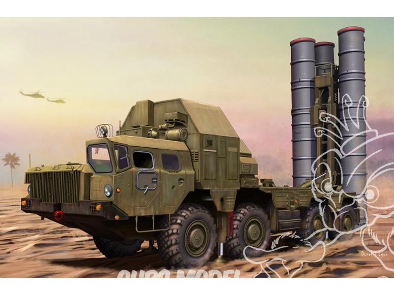 Hobby Boss maquette militaire 82929 48N6E of 5P85S TEL S-300PMU SA-10 GRUMBLE 1/72