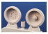 CMK kit resine 8060 Ensemble de conversion roues remforcées pour chenilles T34/85 kit Tamiya 1/48