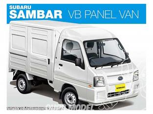 Aoshima maquette voiture 07389 Subaru Sambar VB Panel Van 1/24