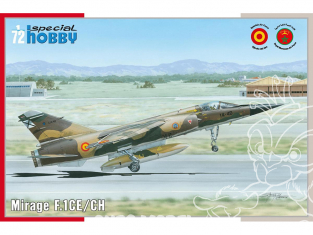Special Hobby maquette avion 72289 Mirage F.1 CE/CH 1/72